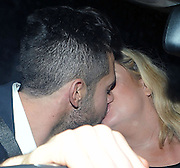 29.FEBRUARY.2012. LONDON<br /> <br /> THE ONLY WAY IS ESSEX STAR GEMMA COLLINS WITH HER BOYFRIEND CHARLIE IN THE CAR TOGETHER AFTER GETTING STUCK IN TRAFFIC IN SOHO, LONDON<br /> <br /> BYLINE: EDBIMAGEARCHIVE.COM<br /> <br /> *THIS IMAGE IS STRICTLY FOR UK NEWSPAPERS AND MAGAZINES ONLY*<br /> *FOR WORLD WIDE SALES AND WEB USE PLEASE CONTACT EDBIMAGEARCHIVE - 0208 954 5968*