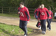 03/03/2004 Six Nations Rugby England Training- ENG v IRL. Pennyhill Park- Bagshot...   [Mandatory Credit, Peter Spurier/ Intersport Images].