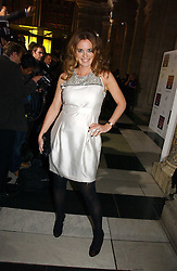 DAISY DONOVAN at the British Fashion Awards 2006 sponsored by Swarovski held at the V&A Museum, Cromwell Road, London SW7 on 2nd November 2006.<br />