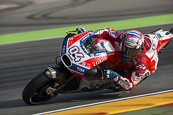 September 23, 2017 - AlcañIz, Teruel, Spain - 4 Andrea Dovizioso (Italian) Ducati Team Ducati  in the free practice of the Gran Premio Movistar de Aragon, Circuit of Motorland, Alcañiz, Spain. Saturday, 23rd september, 2017. (Credit Image: © Jose Breton/NurPhoto via ZUMA Press)