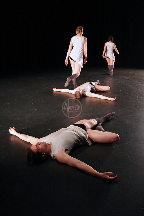 Coriolis Dance Collective performs a piece by Venezuelan choreographer Gillmer Duran at Chop Shop: Northside on October 2010.