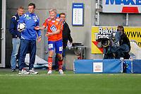 Ålesund 20110516. Bilder fra eliteseriekampen i fotball mellom Aalesund og Strømsgodset på Color Line Stadion i Ålesund mandag kveld.<br /> Foto: Svein Ove Ekornesvåg