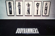"""VENICE, ITALY..June 1997..47th Biennale of Venice.Cordiere..""""Bodyhammers"""" by Robert Longo..(Photo by Heimo Aga)"""