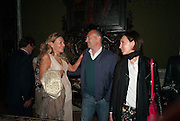 Andrea Dibelius of the EMDASH Foundation hosts party to celebrate the Austrian Pavilion and artist Mathias Poledna at the Venice Biennale. Palazzo Barbaro, Venice. 30 May 2013<br /> <br /> <br /> Venice. Venice Bienalle. 28 May 2013