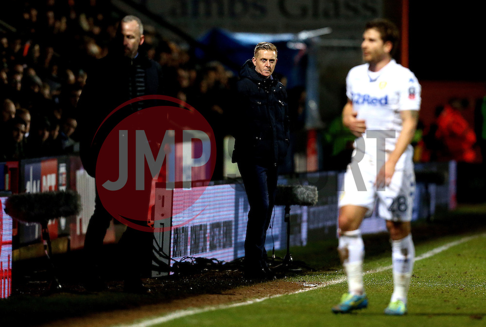 Leeds United manager Garry Monk - Mandatory by-line: Robbie Stephenson/JMP - 09/01/2017 - FOOTBALL - Cambs Glass Stadium - Cambridge, England - Cambridge United v Leeds United - FA Cup third round