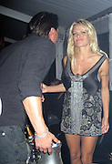 *EXCLUSIVE**.Pamela Anderson is furious because her ex-boyfriend Marcus Schenkenberg is telling her that her ex-husband, Kid Rock and May Anderson are also at VIP Room..VIP Room Nightclub - 2007 Cannes Film Festival .Cannes, France .Thrusday, May 17, 2007.Photo By Celebrityvibe; .To license this image please call (212) 410 5354 ; or.Email: celebrityvibe@gmail.com ;