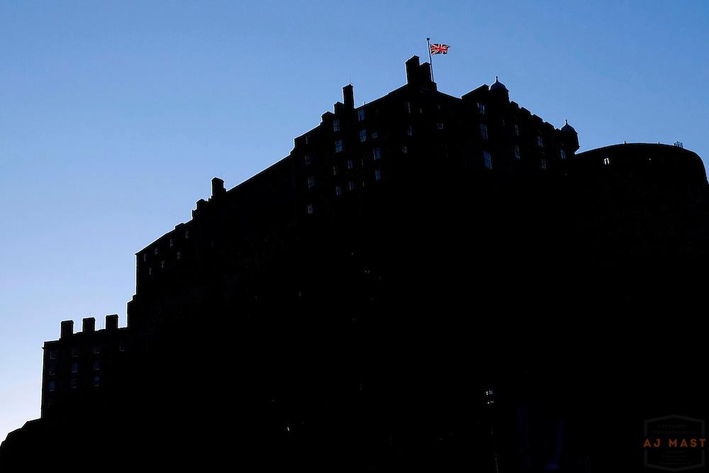 Edinburgh Castle Edinburgh Scotland, U.K. July 20, 2014. (Photo by AJ Mast)