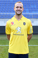 Jean Pascal MIGNOT - 04.10.2014 - Photo officielle Sochaux - Ligue 2 2014/2015<br /> Photo : Icon Sport