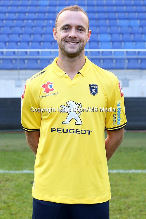 Jean Pascal MIGNOT - 04.10.2014 - Photo officielle Sochaux - Ligue 2 2014/2015<br /> Photo : Icon Sport