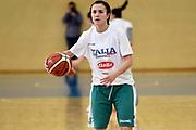 Giulia Gatti<br /> Raduno Nazionale Italiana Femminile Senior - Allenamento<br /> FIP 2017<br /> Montegrotto Terme, 28/02/2017<br /> Foto Ciamillo - Castoria