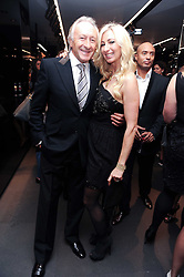 HAROLD TILLMAN and JENNY HALPERN at a party hosted by InStyle to celebrate the iconic glamour of Dolce & Gabbana held at D&G, 6 Old Bond Street, London on 3rd November 2010.