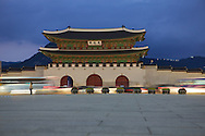 Gwanghwamun - Palace gate, Seoul.