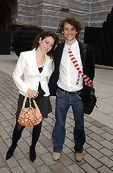 HUGH DANCY and ANNIE MORRIS at the Royal Academy of Arts Summer Exhibition Preview Party held at Burlington House, Piccadilly, London on 2nd June 2005<br /><br />NON EXCLUSIVE - WORLD RIGHTS