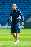 Scotland head coach Gregor Townsend during the Scotland Rugby training run ahead of their match against France at BT Murrayfield Stadium, Edinburgh, Scotland on 23 August 2019.