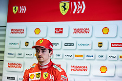 February 28, 2019 - Montmelo, BARCELONA, Spain - Charles Leclerc from Monaco with 16 of Scuderia Ferrari Mission Winnow SF90 portrait during the Formula 1 2019 Pre-Season Tests at Circuit de Barcelona - Catalunya in Montmelo, Spain on February 28. (Credit Image: © AFP7 via ZUMA Wire)