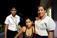 Staff at a cafe in Manzanillo, Granma Province, Cuba.