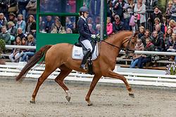 BUCHWALD Beatrice (GER), Estero<br /> Warendorf - Bundeschampionate 2019<br /> Dressurpferdeprüfung Kl. L<br /> Finale 5jährige<br /> 08. September 2019<br /> © www.sportfotos-lafrentz.de/Stefan Lafrentz