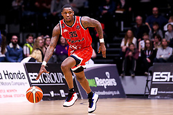 Fred Thomas of Bristol Flyers - Photo mandatory by-line: Robbie Stephenson/JMP - 01/03/2019 - BASKETBALL - Eagles Community Arena - Newcastle upon Tyne, England - Newcastle Eagles v Bristol Flyers - British Basketball League Championship