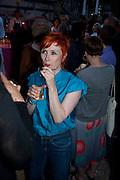 GEORGINA STARR, Tate Britain Summer Party 2009. Millbank. London. 29 June 2009