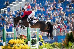 Bruynseels Niels, BEL, Cas de Liberte<br /> World Equestrian Games - Tryon 2018<br /> © Hippo Foto - Dirk Caremans<br /> 20/09/2018