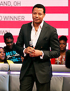 "Terrence Howard appears on BET's ""106th & Park"" at the CBS Television Center in New York City, New York on March 07, 2013."