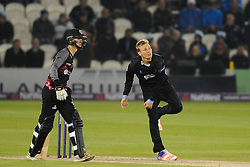 Sussex's Danny Briggs bowls.  - Mandatory by-line: Alex Davidson/JMP - 01/06/2016 - CRICKET - The 1st Central County Ground - Hove, United Kingdom - Sussex v Somerset - NatWest T20 Blast
