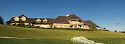 NASHPORT, OH - JUNE 30: Panoramic general view of the clubhouse at Longaberger Golf Club on June 30, 2010 in Nashport, Ohio. (Photo by Joe Robbins)