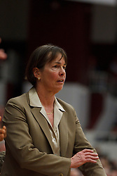 Dec 20, 2011; Stanford CA, USA; Stanford Cardinal head coach Tara VanDerveer on the sidelines against the Tennessee Lady Volunteers during the second half at Maples Pavilion.  Stanford defeated Tennessee 97-80. Mandatory Credit: Jason O. Watson-US PRESSWIRE