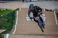 #232 (KRASEVSKIS Matt) AUS at Round 2 of the 2020 UCI BMX Supercross World Cup in Shepparton, Australia.