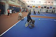 um-wheelchair tennis exhibition