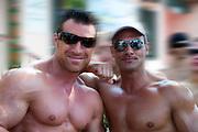 Bodybuilder Muscle Men, LA Pride 2010 West Hollywood, CA Parade High dynamic range imaging (HDRI or HDR)