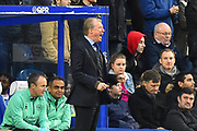 Queens Park Rangers manager Steve McClaren during the The FA Cup 3rd round match between Queens Park Rangers and Leeds United at the Loftus Road Stadium, London, England on 6 January 2019.