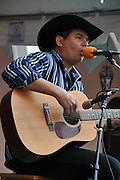 Angel Perez concert at 2010 Tucson Folk Festival.