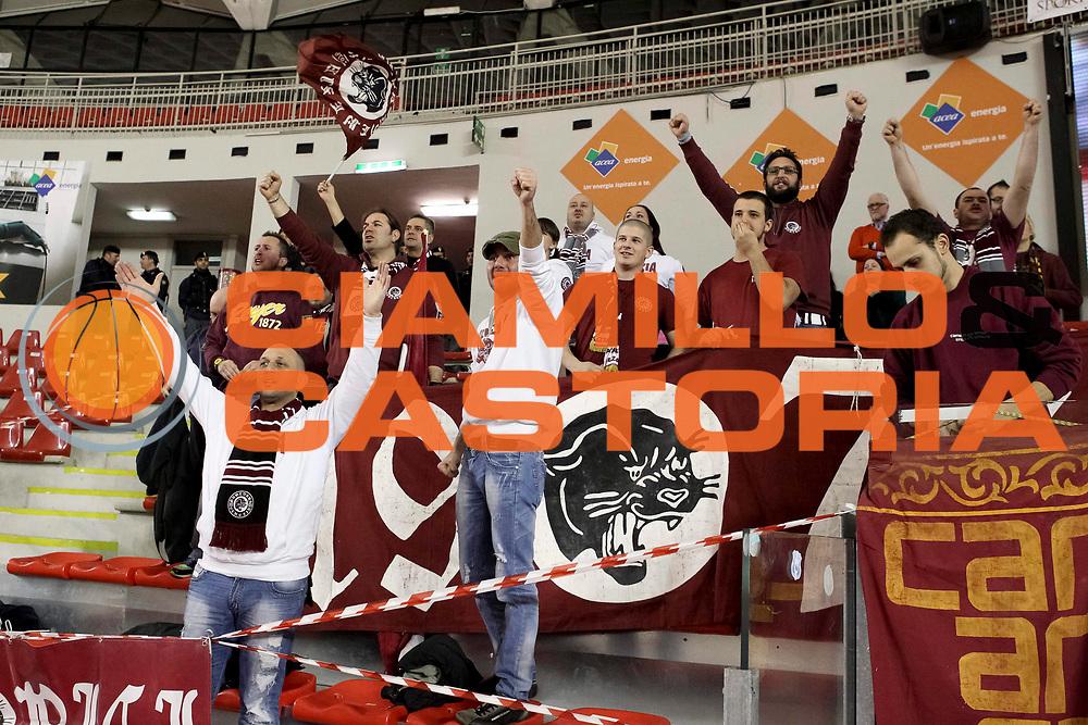 DESCRIZIONE : Roma Lega A 2012-13 Acea Virtus Roma Umana Venezia<br /> GIOCATORE : <br /> CATEGORIA : tifosi<br /> SQUADRA : Umana Venezia <br /> EVENTO : Campionato Lega A 2012-2013 <br /> GARA : Acea Virtus Roma Umana Venezia<br /> DATA : 16/03/2013<br /> SPORT : Pallacanestro <br /> AUTORE : Agenzia Ciamillo-Castoria/N. Dalla Mura<br /> Galleria : Lega Basket A 2012-2013<br /> Fotonotizia : Roma Lega A 2012-13 Acea Virtus Roma Umana Venezia