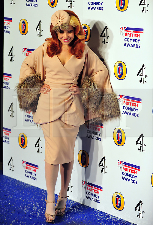 © Licensed to London News Pictures. 16/12/2011. London, England.Paloma Faith attends the Channel 4 British Comedy Awards  in Wembley London .  Photo credit : ALAN ROXBOROUGH/LNP