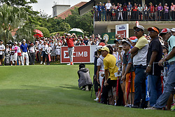 October 15, 2017 - Kuala Lumpur, MALAYSIA - Xander Schauffele of USA in action during the CIMB Classic 2017 day 4 on October 15, 2017 at TPC Kuala Lumpur, Malaysia. (Credit Image: © Chris Jung via ZUMA Wire)