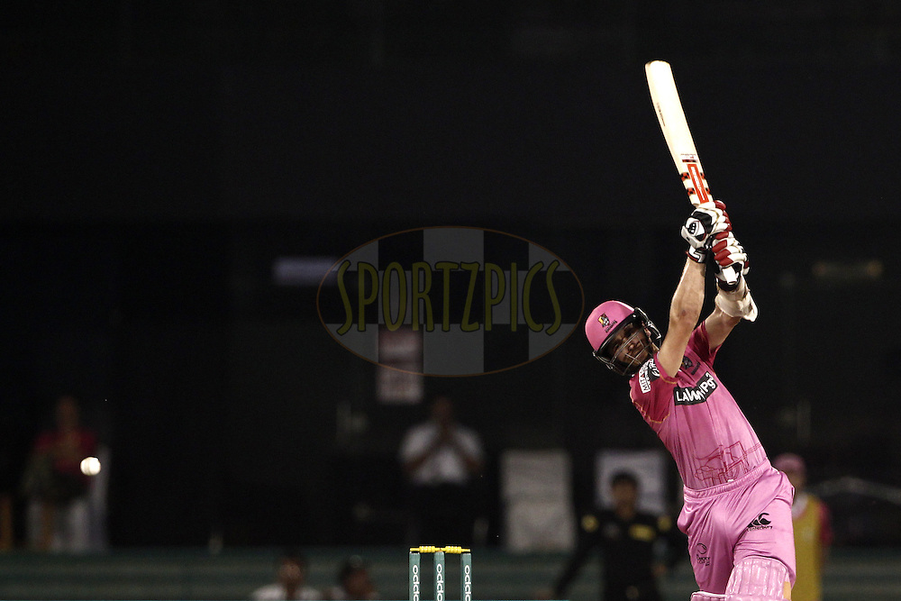 Kane Williamson of the NORTHERN KNIGHTS during match 3 of the Oppo Champions League Twenty20 between the Cape Cobras and the Northern Knights held at the Chhattisgarh International Cricket Stadium, Raipur, India on the 19th September 2014<br /> <br /> Photo by:  Deepak Malik / Sportzpics/ CLT20<br /> <br /> <br /> Image use is subject to the terms and conditions as laid out by the BCCI/ CLT20.  The terms and conditions can be downloaded here:<br /> <br /> http://sportzpics.photoshelter.com/gallery/CLT20-Image-Terms-and-Conditions-2014/G0000IfNJn535VPU/C0000QhhKadWcjYs