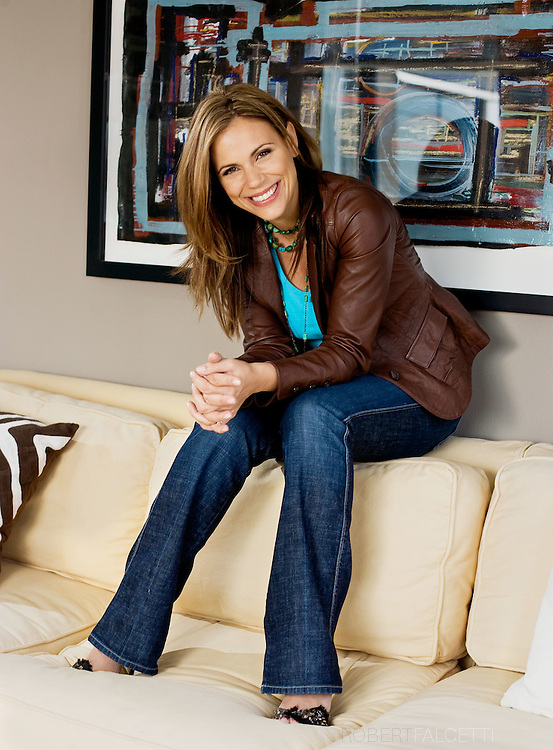 NEW YORK, NY- OCTOBER 24, 2008: Krista Watterworth has starred in four seasons of HGTV's Save My Bath as host-designer and in 2009 will star in a new HGTV show called Splurge & Save..(Photo by Robert Falcetti) . .