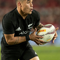 Aaron Smith during game 9 of the British and Irish Lions 2017 Tour of New Zealand, the second Test match between  The All Blacks and British and Irish Lions, Westpac Stadium, Wellington, Saturday 1st July 2017<br /> (Photo by Kevin Booth Steve Haag Sports)<br /> <br /> Images for social media must have consent from Steve Haag