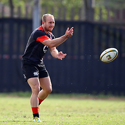 Dan Robson (Wasps) of England during the England Rugby training session at  Jonsson Kings Park Stadium,Durban.South Africa. 19,06,2018 Photo by (Steve Haag JMP)