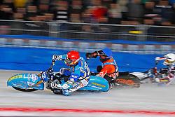 13.03.2016, Assen, BEL, FIM Eisspeedway Gladiators, Assen, im Bild Guenter Bauer (GER) // during the Astana Expo FIM Ice Speedway Gladiators World Championship in Assen, Belgium on 2016/03/13. EXPA Pictures &copy; 2016, PhotoCredit: EXPA/ Eibner-Pressefoto/ Stiefel<br /> <br /> *****ATTENTION - OUT of GER*****