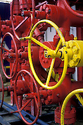 Choke Manifold on an Offshore Rig