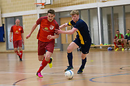 Wattcell Futsal Club v FC Polonia (Edinburgh) in the Scottish Futsal Finals day semi final at Perth College, Perth, Photo: David Young<br /> <br />  - &copy; David Young - www.davidyoungphoto.co.uk - email: davidyoungphoto@gmail.com