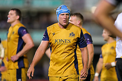 Jordan Crane (capt) of Bristol Rugby looks on - Rogan Thomson/JMP - 20/10/2016 - RUGBY UNION - The Recreation Ground - Bath, England - Bath Rugby v Bristol Rugby - EPCR Challenge Cup.