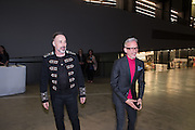 DAVID FURNISH; PATRICK COX, New Tate Modern opening party, Bankside. London. 16 June 2016