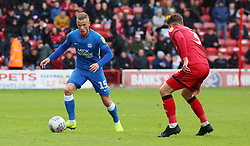 Joe Ward of Peterborough United in action against Walsall - Mandatory by-line: Joe Dent/JMP - 27/04/2019 - FOOTBALL - Banks's Stadium - Walsall, England - Walsall v Peterborough United - Sky Bet League One