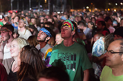 Audience ready for Dark Star Orchestra at The Gathering of the Vibes 31 July 2014. Photo by James R Anderson