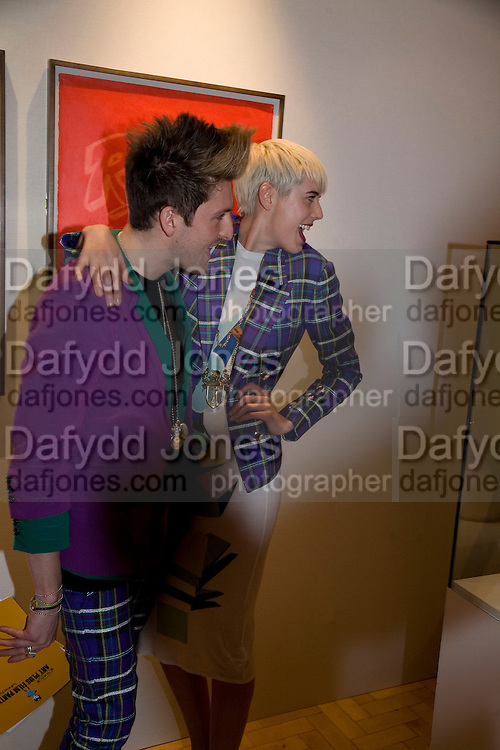 HENRY HOLLAND AND AGYNESS DEYNE , TOD&Iacute;S Art Plus Film Party 2008. Party to raise funds for the Whitechapel art Gallery.  One Marylebone Road, London NW1, 6 March, 8.30 - late<br /> *** Local Caption *** -DO NOT ARCHIVE-&copy; Copyright Photograph by Dafydd Jones. 248 Clapham Rd. London SW9 0PZ. Tel 0207 820 0771. www.dafjones.com.
