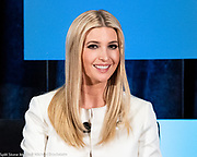 Ivanka Trump, senior advisor to the US President, at the Jack Kemp Foundation 2018 Kemp Leadership Award Dinner at Audi Field in Washington, DC on November 13, 2018.