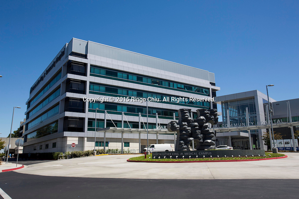 The new Martin Luther King, Jr. Community Hospital.Photo by Ringo Chiu/PHOTOFORMULA.com)
